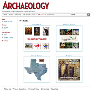 Archaeology Magazine - Products