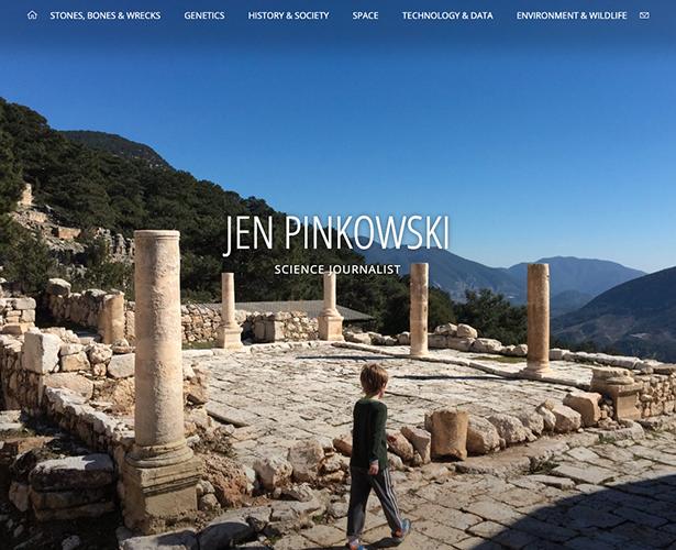 Jen Pinkowski Website